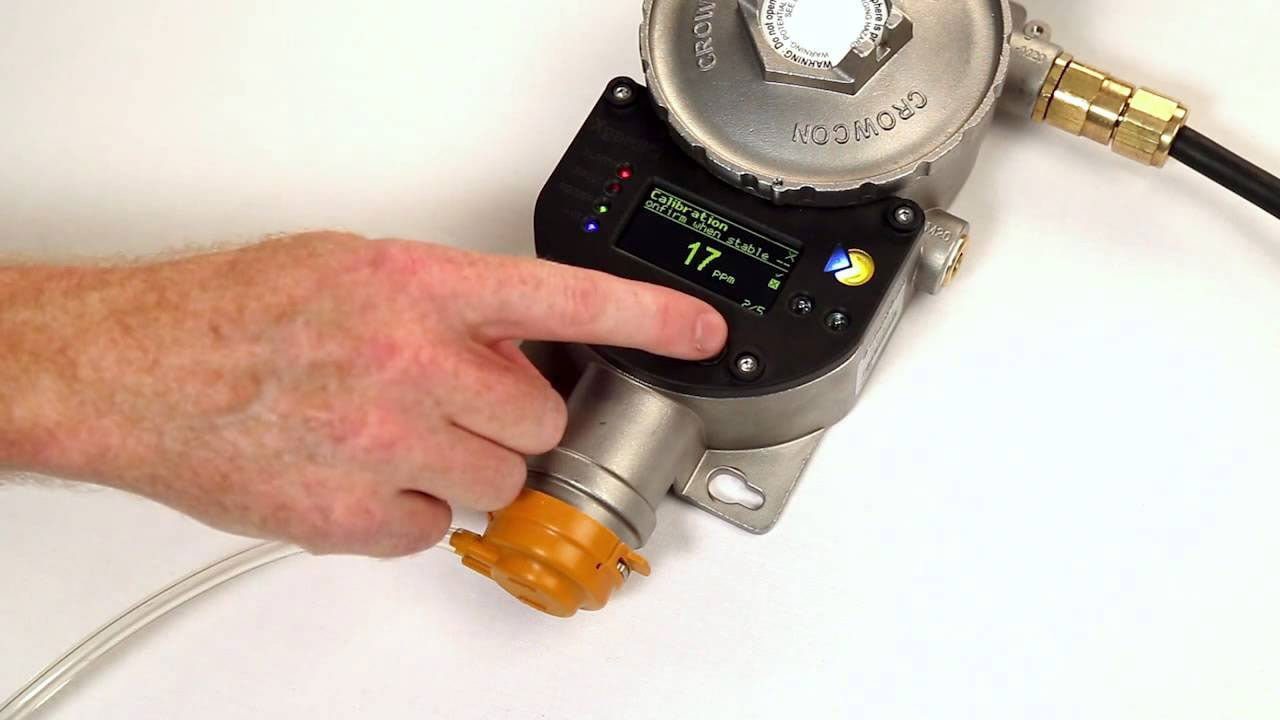 Crowcon calibration gas detector