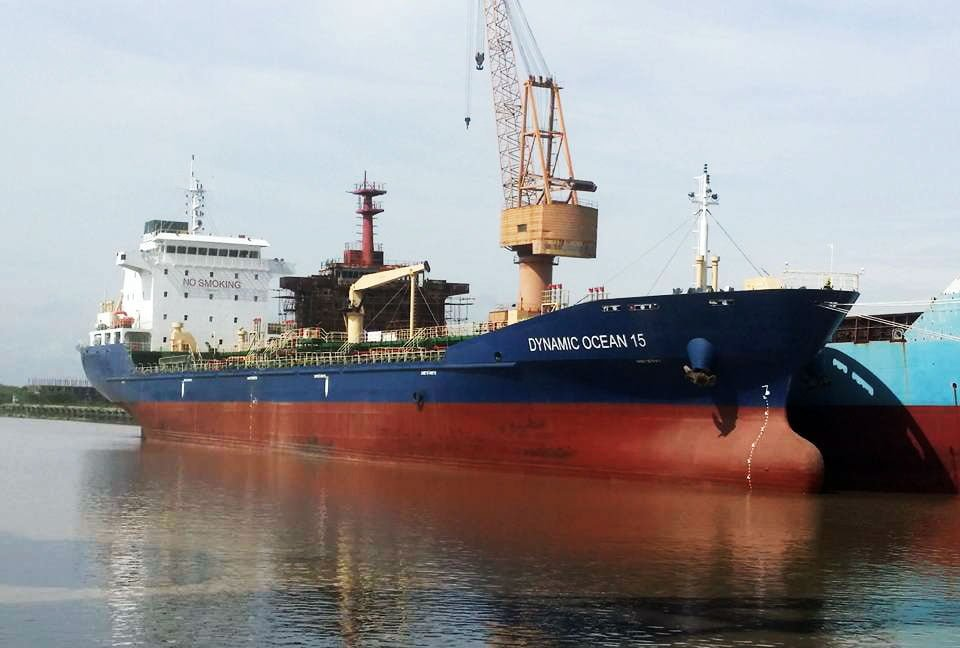 Project #Marine Oil tanker Dynamic Ocean 15