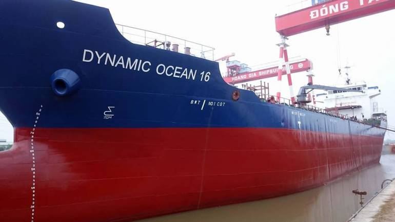 Project #Marine Oil tanker Dynamic Ocean 16