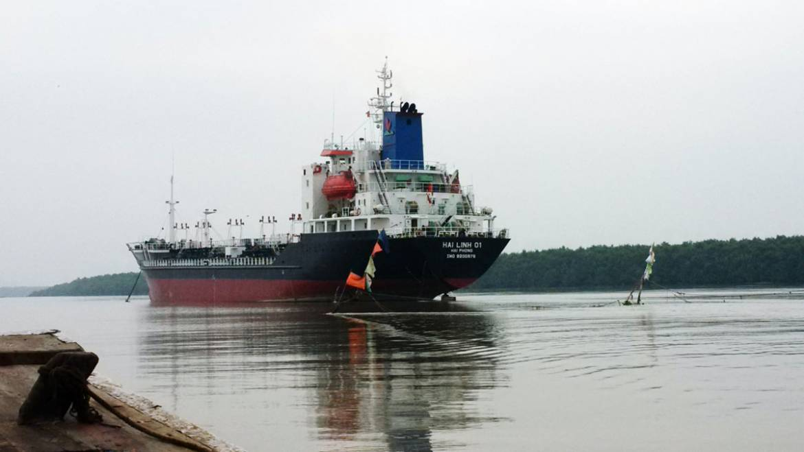 Project #Marine Oil tanker Hai Linh 01