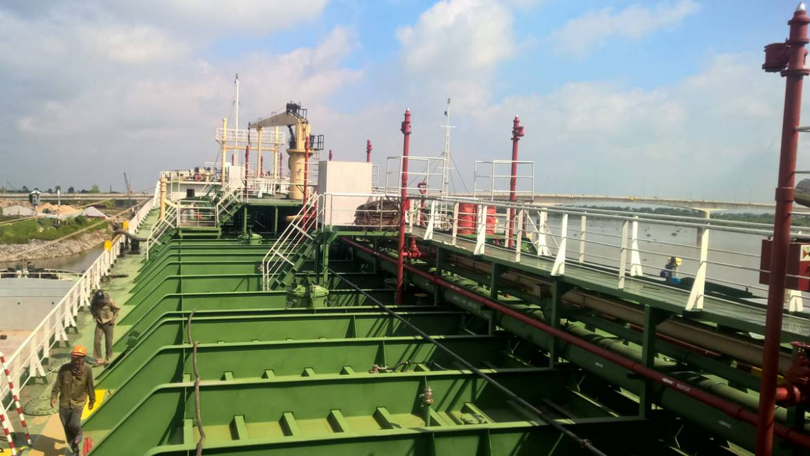 Project #Marine Oil tanker VIET SEA