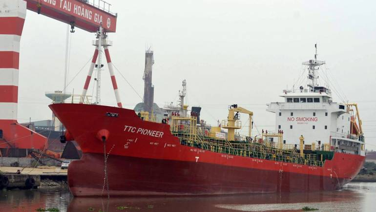 Project #Marine Oil/Chemical tanker TTC PIONEER