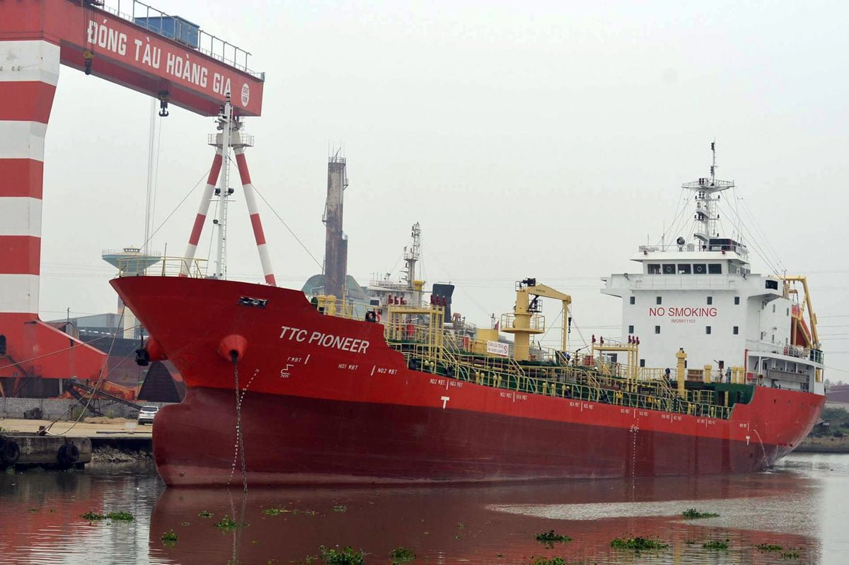Oil/Chemical tanker TTC-Pioneer