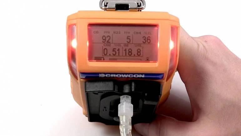 Crowcon #2: Hướng dẫn Bump test máy đo khí
