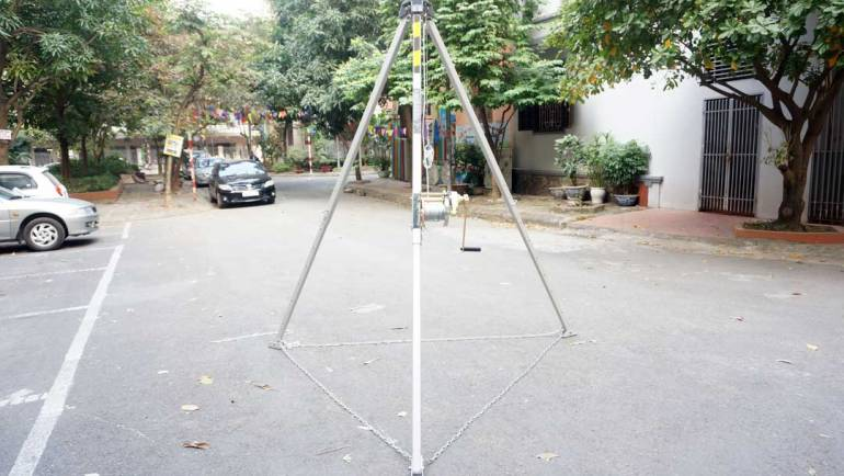 Confined Space tripod comparison