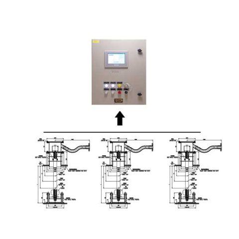 Hệ thống Báo mức, nhiệt độ, áp suất tích hợp hãng Shanghai Rongde