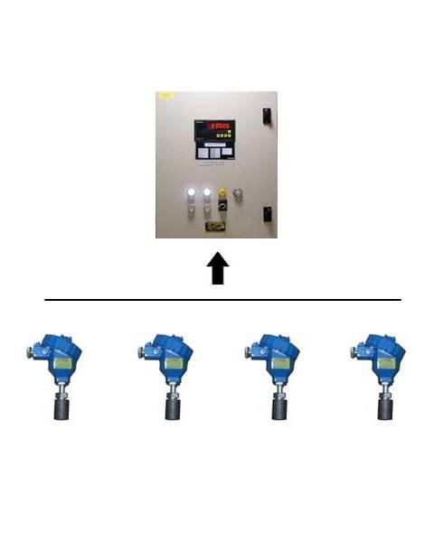 Shanghai Rongde Cargo pump temperature monitoring system