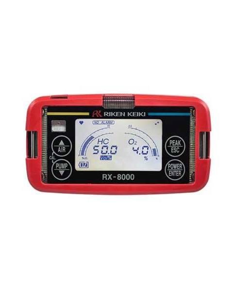 Riken Keiki RX-8000 Portable HC/O2 Gas Detector