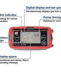 Máy đo khí độc Riken Keiki SC-8000