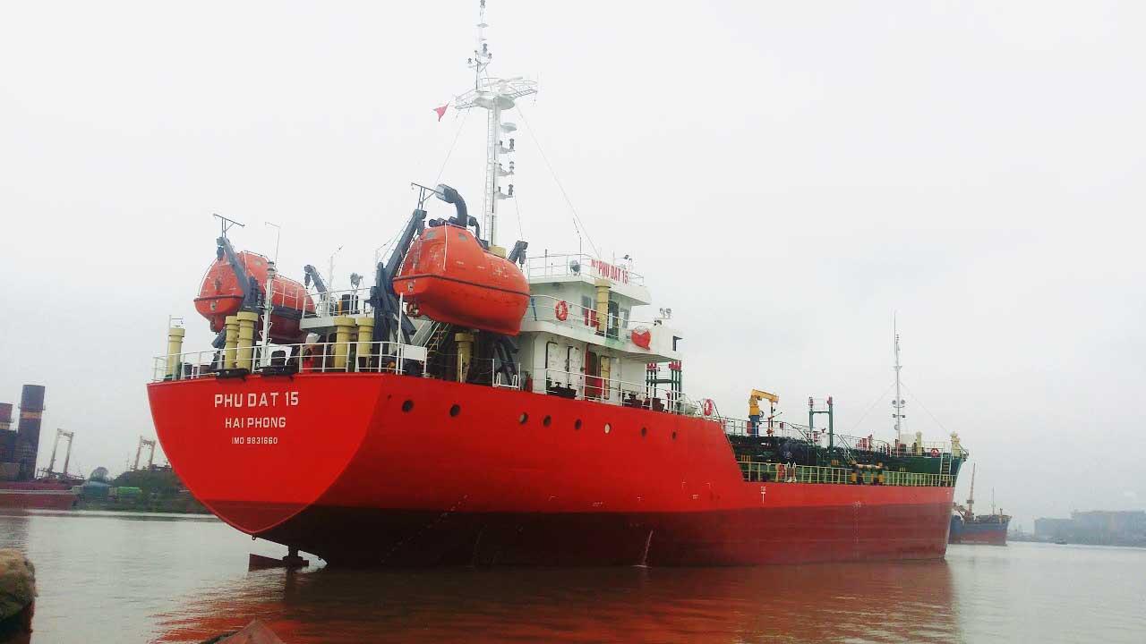 Dự án #Tàu chở dầu Phú Đạt 15