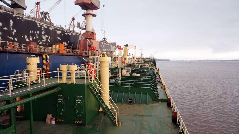 Project #Marine Oil Tanker GOLDEN OCEAN 25/26