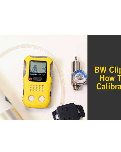 Calibration service for BW Gas detector