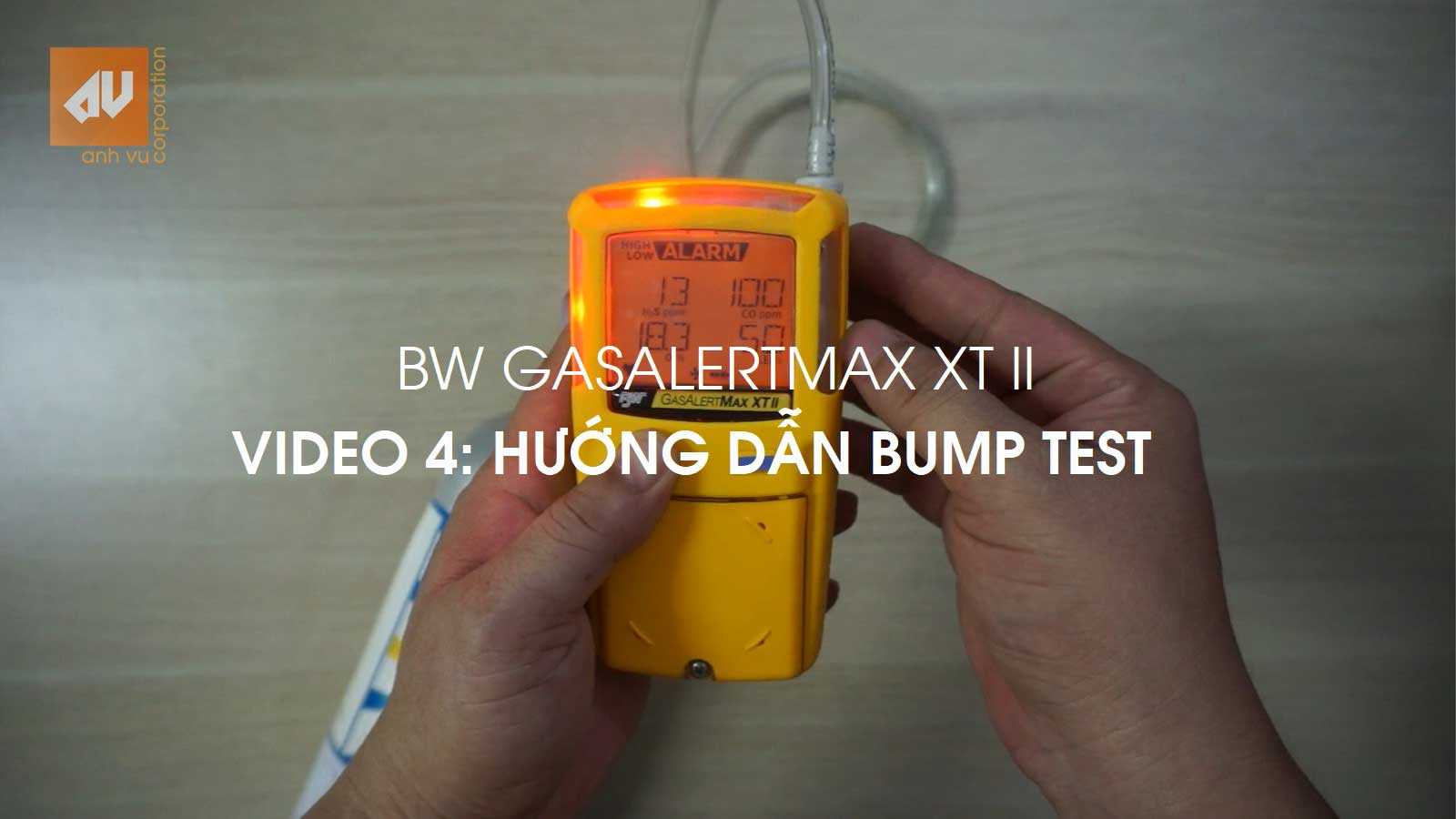 No.4 – Bump test máy đo khí GasAlertMax XT II [EN: How to Bump test?]