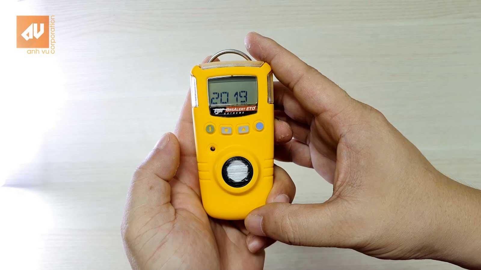 Máy đo khí đơn chỉ tiêu GasAlert Extreme, tuỳ chọn: H2S; NO; CO; HCN; O2; Cl2; SO2; ClO2; PH3; O3; NH3; ETO; NO2