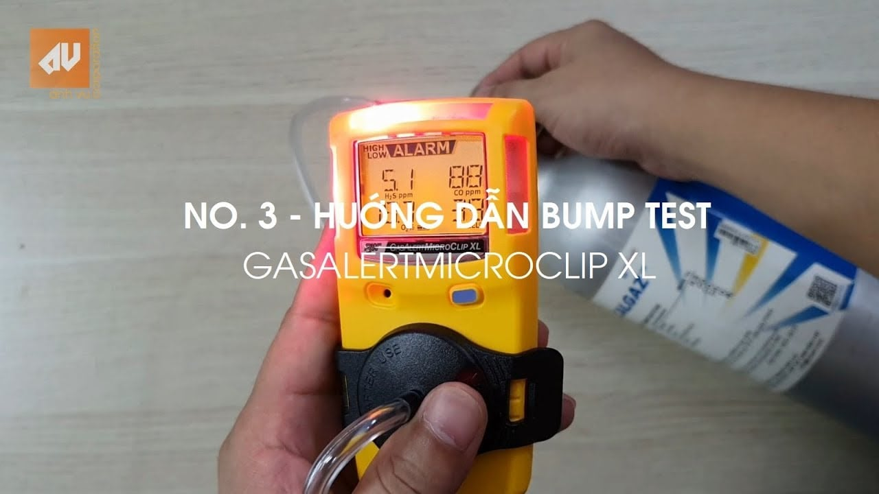 No. 3 - How to Bump test GasAlertMicroClip XL