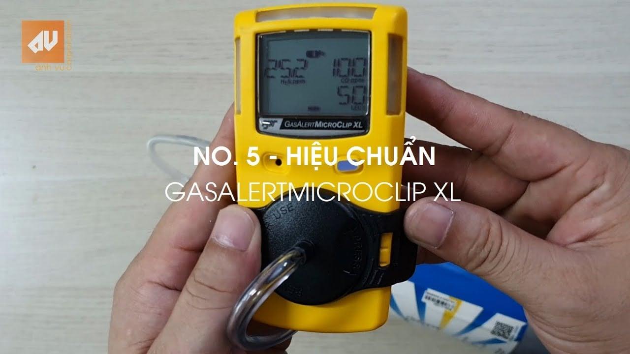 Calibration BW GasAlertMicroClip XL