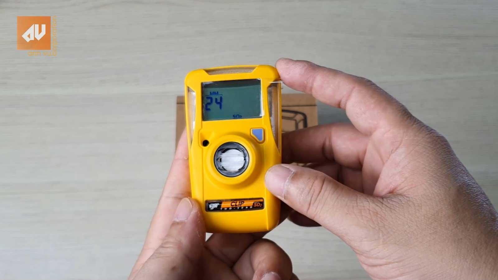 Giới thiệu Máy đo khí BW Clip SO2 của Honeywell