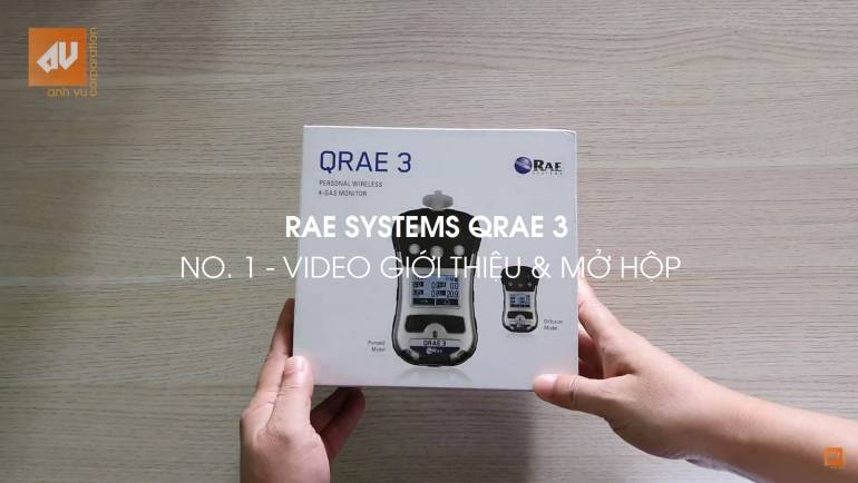 No. 1 – Introduce video for Qrae 3 gas detector
