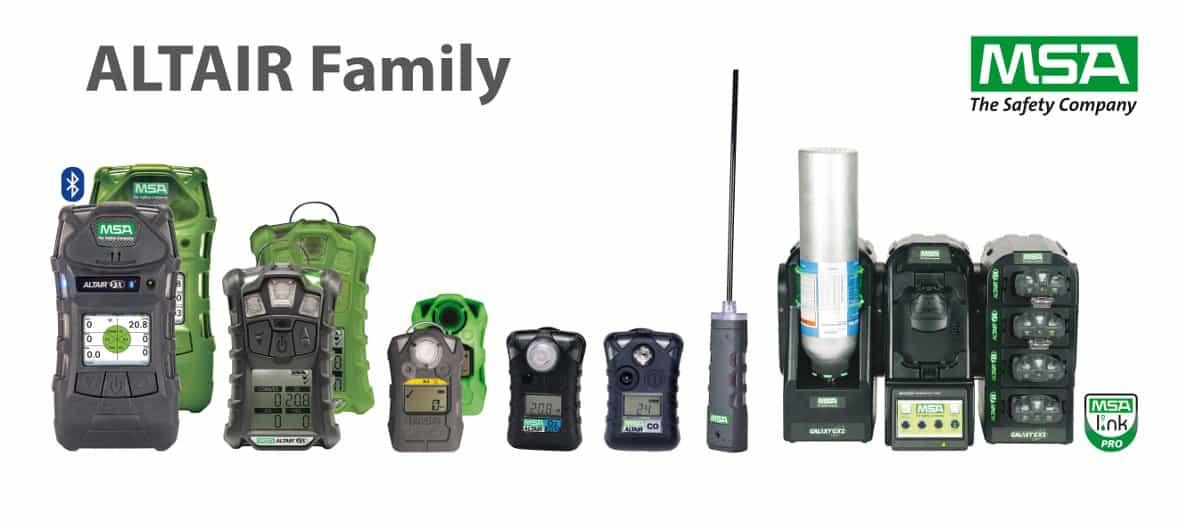 Máy đo khí MSA Altair Family