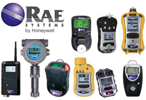 Máy đo khí RAE system by Honeywell